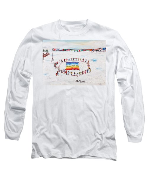 Speranza Di Pace Long Sleeve T-Shirt