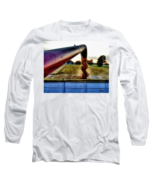 Spiral In Time Long Sleeve T-Shirt