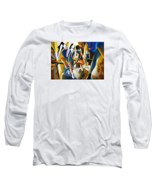 Long Sleeve T-Shirt featuring the painting Spirited Away by Georg Douglas