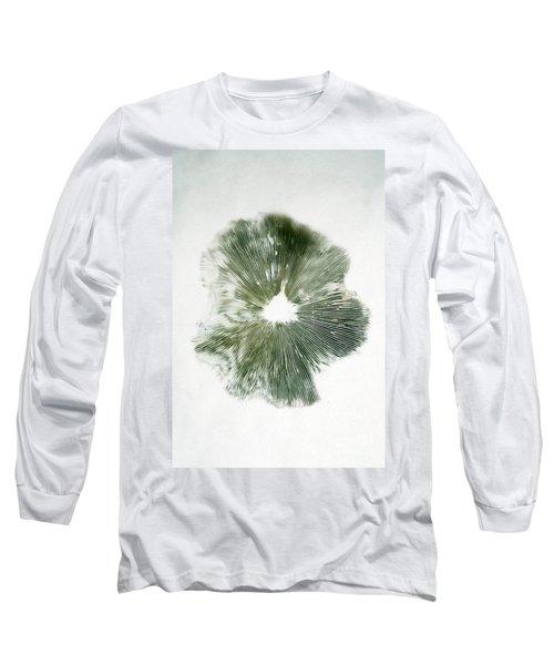 Spore Print Of Mushroom Long Sleeve T-Shirt