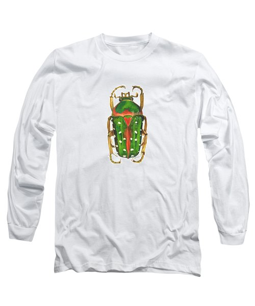 Spotted Flour Beetle Long Sleeve T-Shirt by Cindy Hitchcock