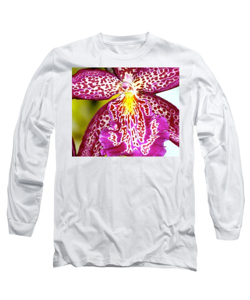 Spotted Orchid Long Sleeve T-Shirt