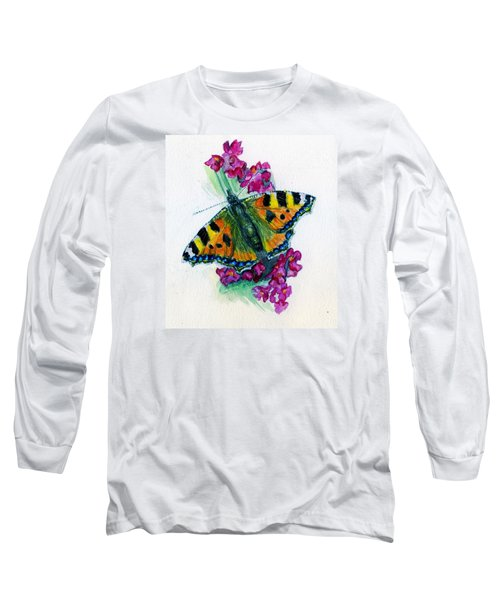 Spreading Wings Of Colour Long Sleeve T-Shirt
