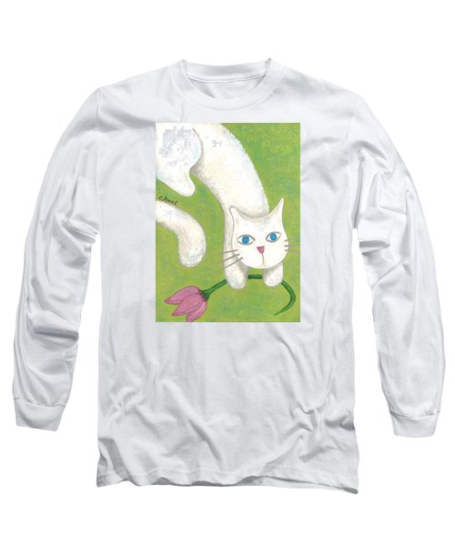 Spring Cat Long Sleeve T-Shirt