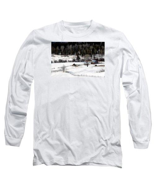 Spring Horizon Long Sleeve T-Shirt by Ed Hall