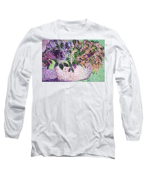 Springtime Basket Long Sleeve T-Shirt