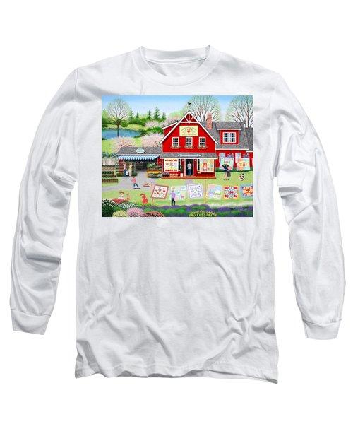 Springtime Wishes Long Sleeve T-Shirt