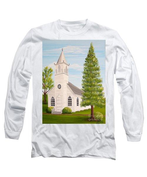 St. Gabriel The Archangel Roman Catholic Church Long Sleeve T-Shirt