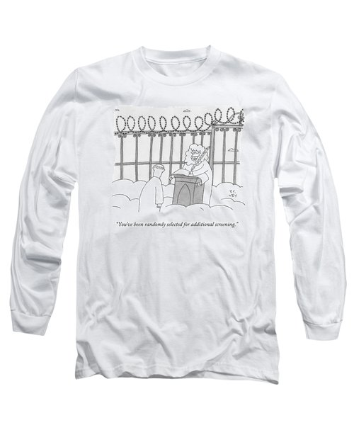 St. Peter Stands At Heaven's Gates Long Sleeve T-Shirt
