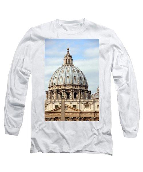 St. Peters Basilica Long Sleeve T-Shirt