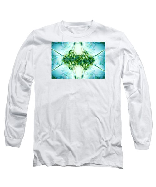 Stain Glass Long Sleeve T-Shirt by Lena Auxier