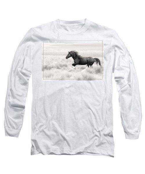 Stallion Blur Long Sleeve T-Shirt