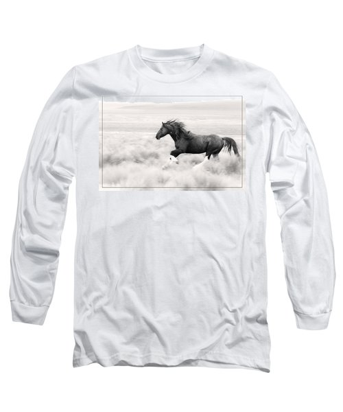Stallion Blur Long Sleeve T-Shirt