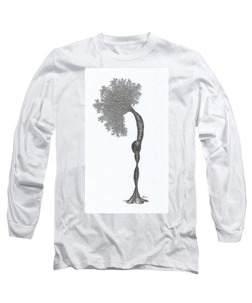 Standing Backward Bend Long Sleeve T-Shirt