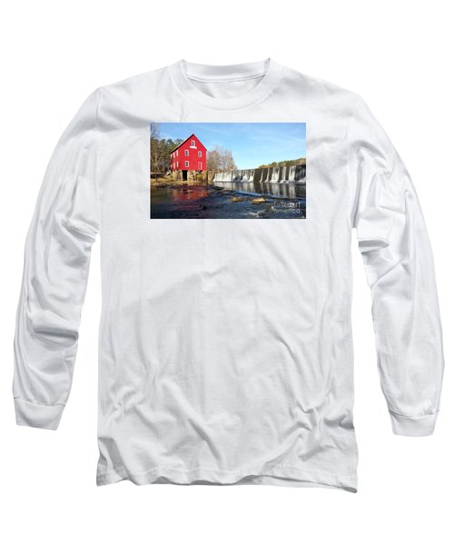Long Sleeve T-Shirt featuring the photograph Starr's Mill In Senioa Georgia 3 by Donna Brown