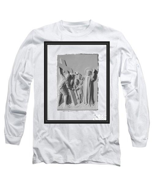 Station I I Long Sleeve T-Shirt by Sharon Elliott