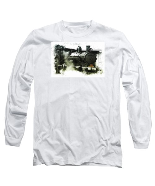 Long Sleeve T-Shirt featuring the photograph Steam 01 by Kevin Chippindall