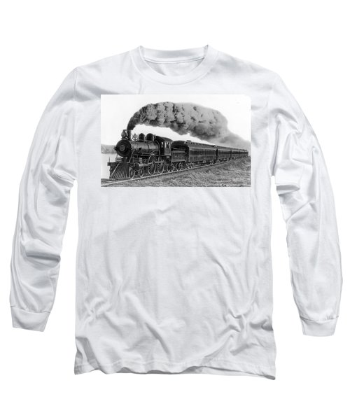 Steam Locomotive No. 999 - C. 1893 Long Sleeve T-Shirt