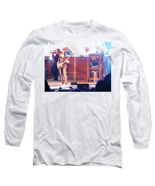 Long Sleeve T-Shirt featuring the photograph Stephan The Bass Player by Aaron Martens