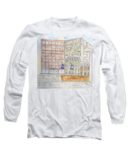 Nyu Stern School Of Business Long Sleeve T-Shirt by AFineLyne