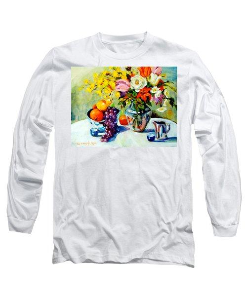 Still Life Creamer Long Sleeve T-Shirt