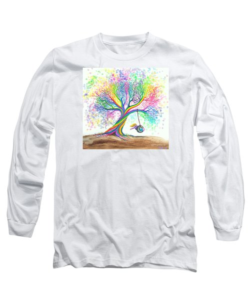 Still More Rainbow Tree Dreams Long Sleeve T-Shirt