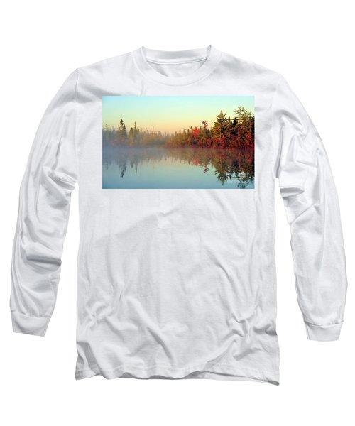 Still Water Marsh Long Sleeve T-Shirt by Terri Gostola