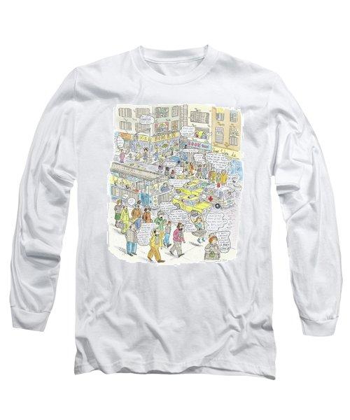 'stockopolis' Long Sleeve T-Shirt