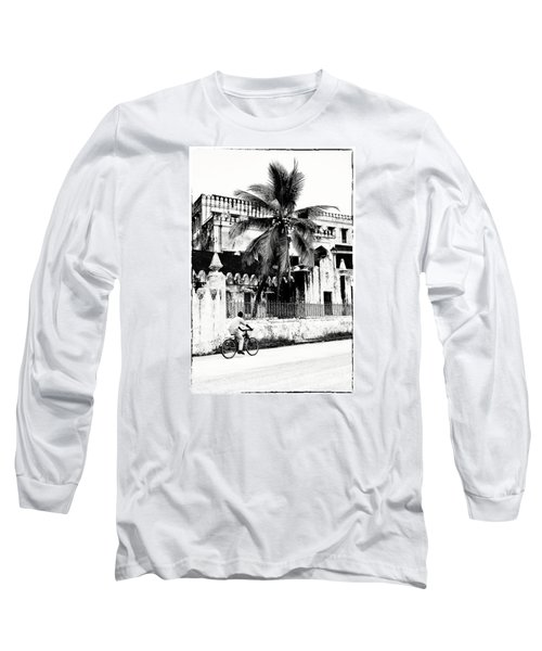 Long Sleeve T-Shirt featuring the photograph Tanzania Stone Town Unguja Historic Architecture - Africa Snap Shots Photo Art by Amyn Nasser