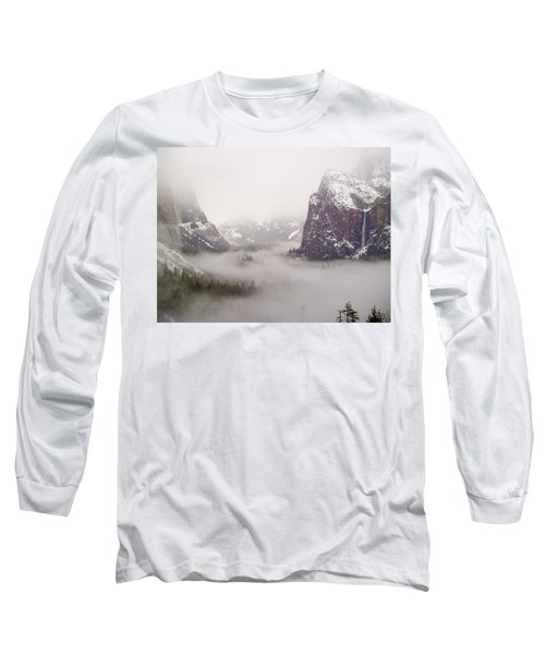 Storm Brewing Long Sleeve T-Shirt by Bill Gallagher