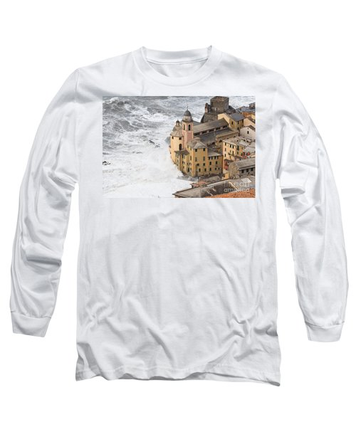 Storm In Camogli Long Sleeve T-Shirt