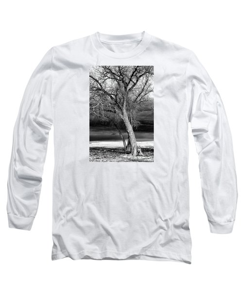 Storm Tree Long Sleeve T-Shirt by Steven Reed