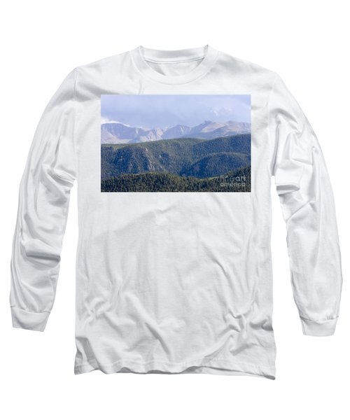 Stormy Pikes Peak Long Sleeve T-Shirt