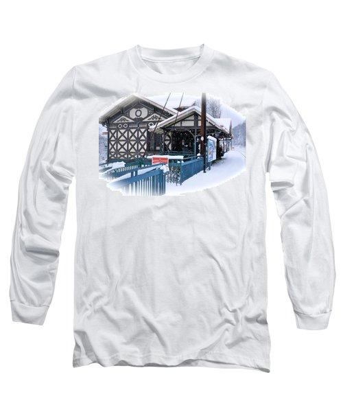 Strafford Station Long Sleeve T-Shirt by Ira Shander