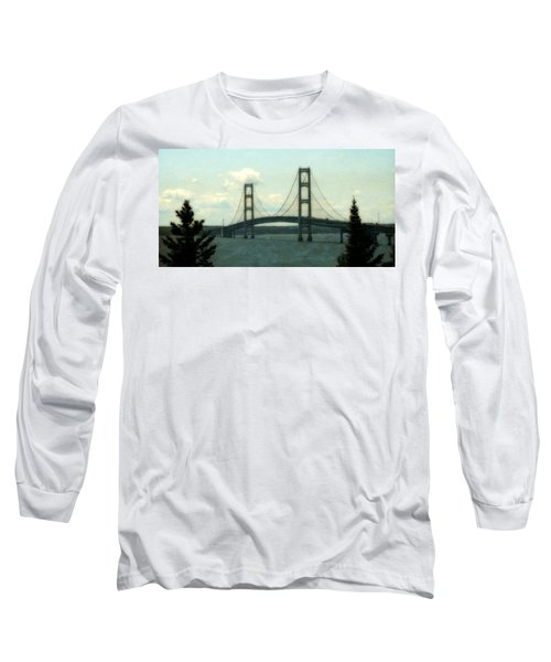 Straits Of Mackinac Long Sleeve T-Shirt