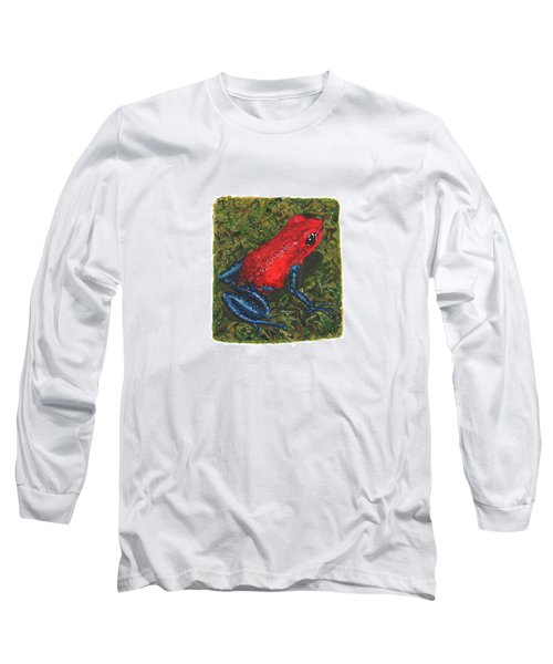 Strawberry Poison Dart Frog Long Sleeve T-Shirt