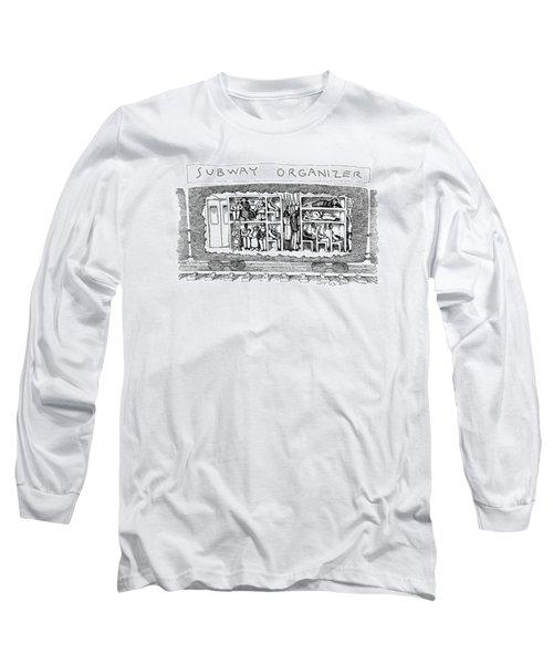 Subway Organizer Long Sleeve T-Shirt