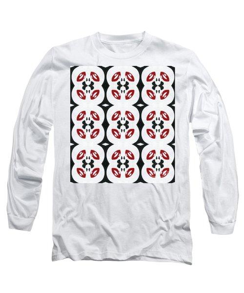 Sugar Kisses Long Sleeve T-Shirt by Roz Abellera Art