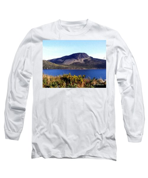 Sugarloaf Hill In Summer Long Sleeve T-Shirt by Barbara Griffin