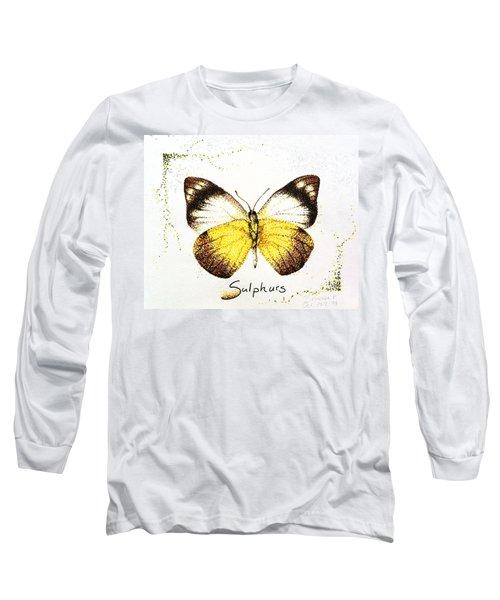 Sulphurs - Butterfly Long Sleeve T-Shirt