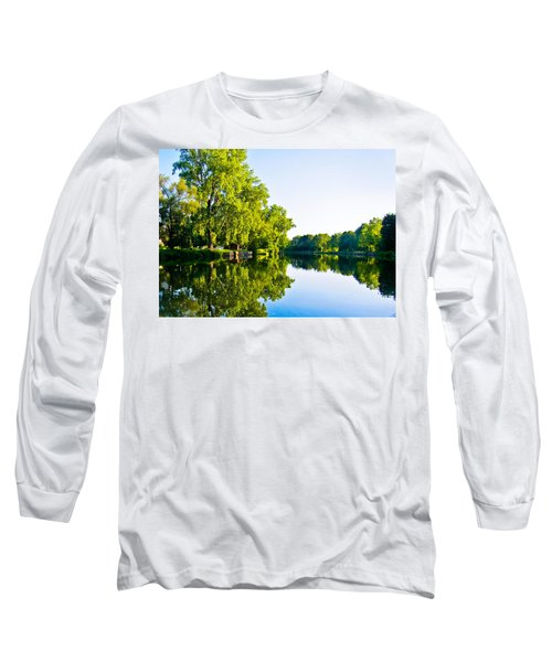 Summer Reflections Long Sleeve T-Shirt by Sara Frank