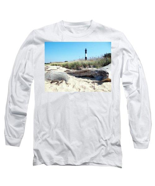 Long Sleeve T-Shirt featuring the photograph Summer Scene by Ed Weidman