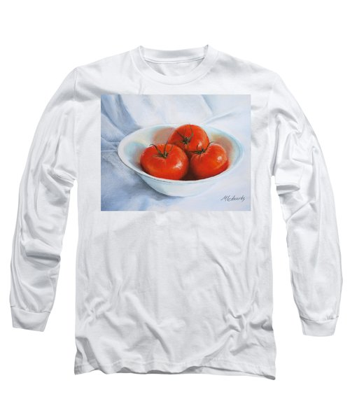 Summer Tomatoes Long Sleeve T-Shirt