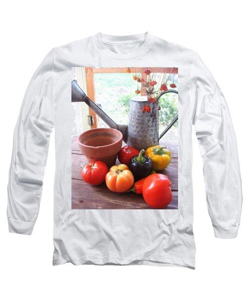 Summer's Bounty   Long Sleeve T-Shirt