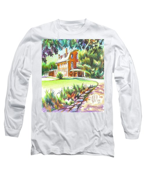 Summertime At Ursuline No C101 Long Sleeve T-Shirt