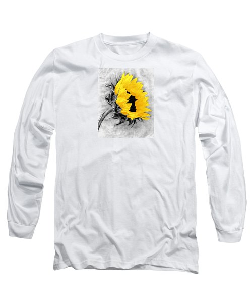 Long Sleeve T-Shirt featuring the photograph Sun Power by I'ina Van Lawick