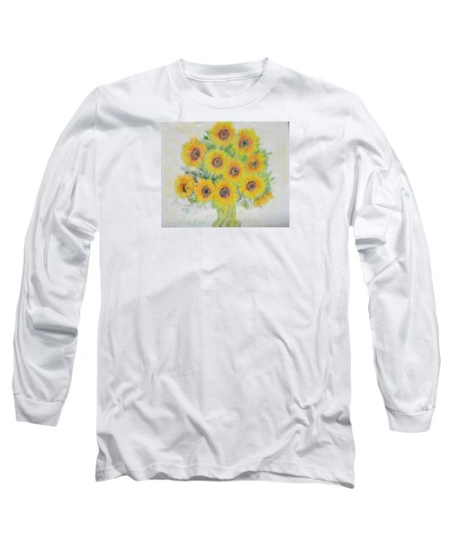 Sunflower Bouquet Long Sleeve T-Shirt