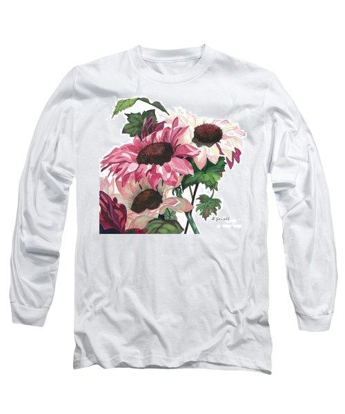 Sunny Delight Long Sleeve T-Shirt by Barbara Jewell
