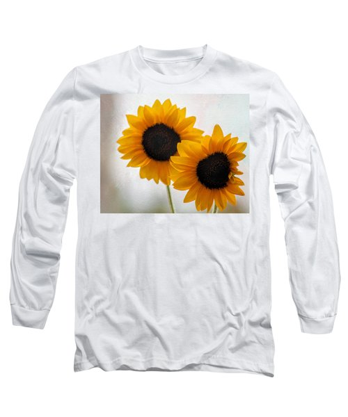 Sunny Flower On A Rainy Day Long Sleeve T-Shirt