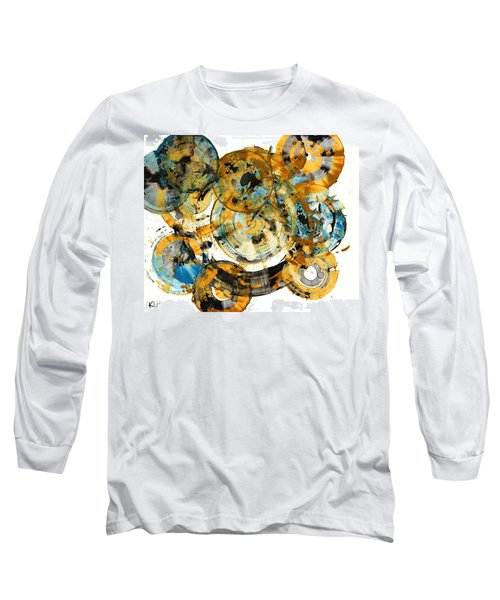 Long Sleeve T-Shirt featuring the painting Sunrise - 991.042212 by Kris Haas
